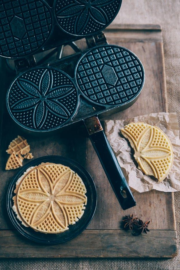 Nothing but Delicious: Classic Anise Pizzelles nothingbutdelicious.blogspot.com