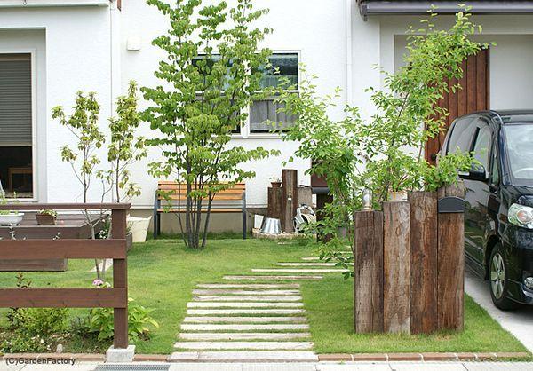 玄関アプローチをDIYで作る。簡単におしゃれで素敵なマイホームを | iemo[イエモ]