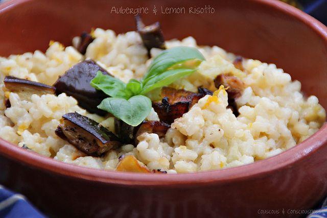 Aubergine & Lemon Risotto Recipe by Yotam Ottolenghi