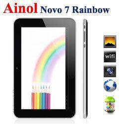 7 inch Ainol Novo 7 Rainbow Android Tablet PC A13 4GB Camera WIFI  Celulares Directos De Fabrica  http://www.exportandgo.com/product_info.php?cPath=158_239_240&products_id=3932 http://www.exportandgo.com