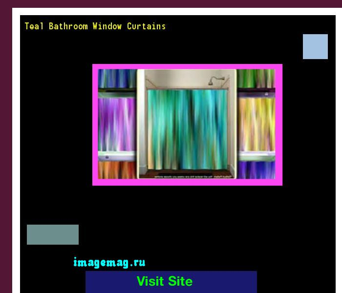Teal Bathroom Window Curtains 134734 - The Best Image Search