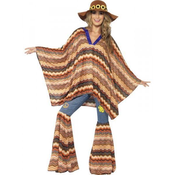 Disfraz Karma hippie para mujer