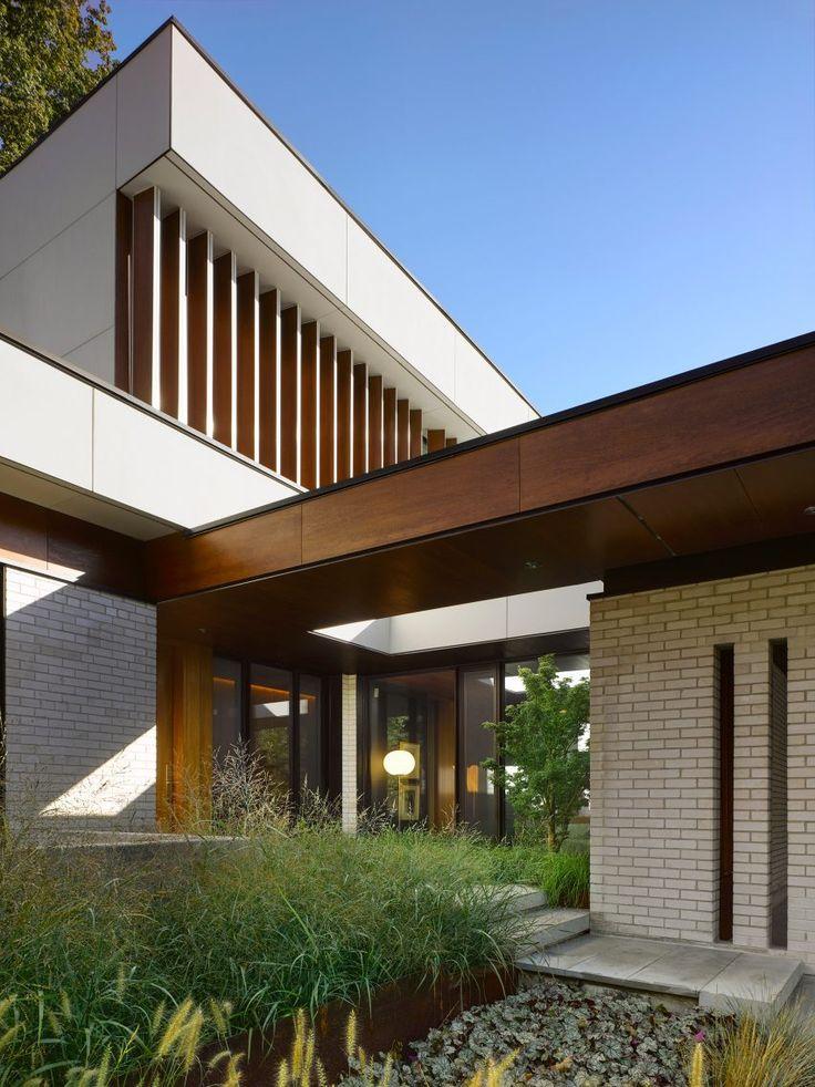 modern home architecture interior. Toronto Firm Superkül Has Renovated A Mid-century Modern Home In Residential Area Of. Architecture Interior