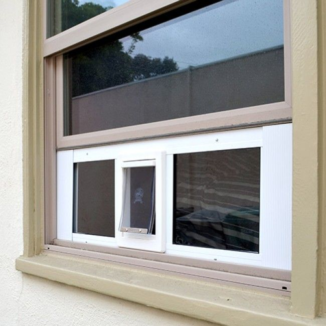 Ideal Fast Sash Window Pet Door | Window Cat Doors