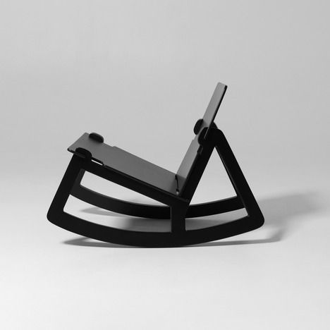 Studio Färg & Blanche have designed this stunning modern rocking chair as a reaction to the dwindling rocking chairs available in the furniture market today. According to Färg & Blanche: