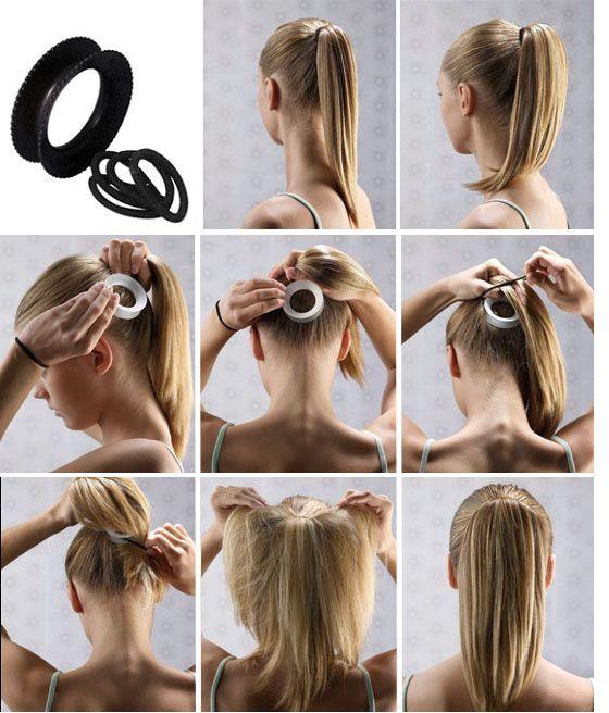 Ponytail Volumizer Favorite Products Pinterest Hair Styles