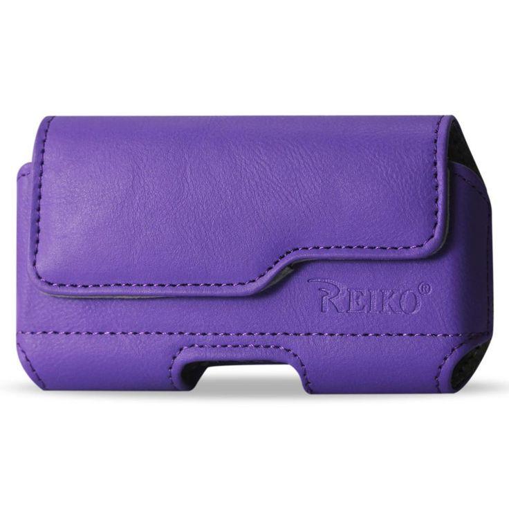Reiko Horizontal Z Lid Leather Pouch Samsung Galaxy S3- I9300- R53 X Plus Purple
