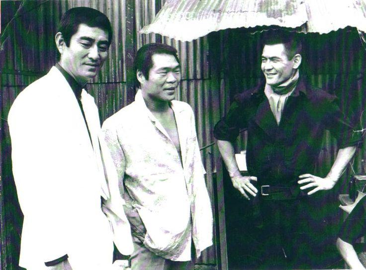 Ken Takakura, Guts Ishimatsu, Bunta Sugawara