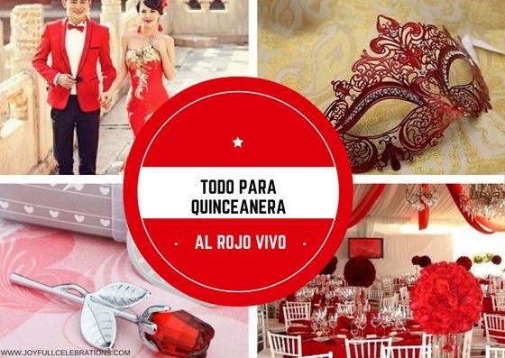 Todo Para Quinceanera al Rojo Vivo /Blog