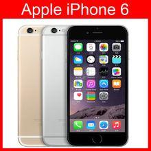 Déverrouillé Apple iPhone 6 Téléphones Portables 4.7 pouce IOS 8 Dual Core 1.4 GHz téléphone 8 MP Caméra 3G WCDMA 4G LTE Utilisé 16/64/128 GB ROM(China (Mainland))