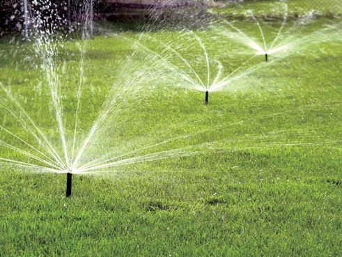 Riverside sprinkler