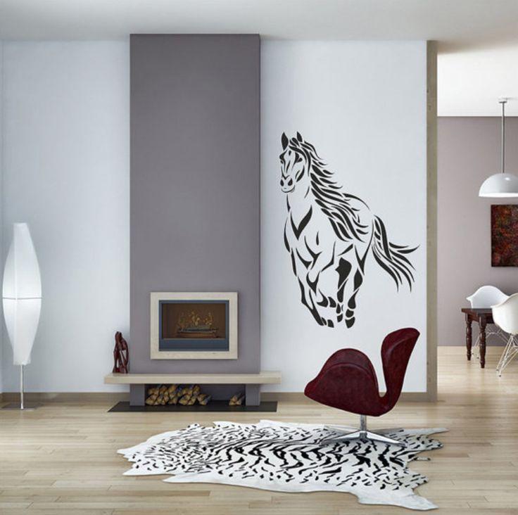 10 Ways to Dress up Your Walls with Vinyl Decals » Horses & Heels