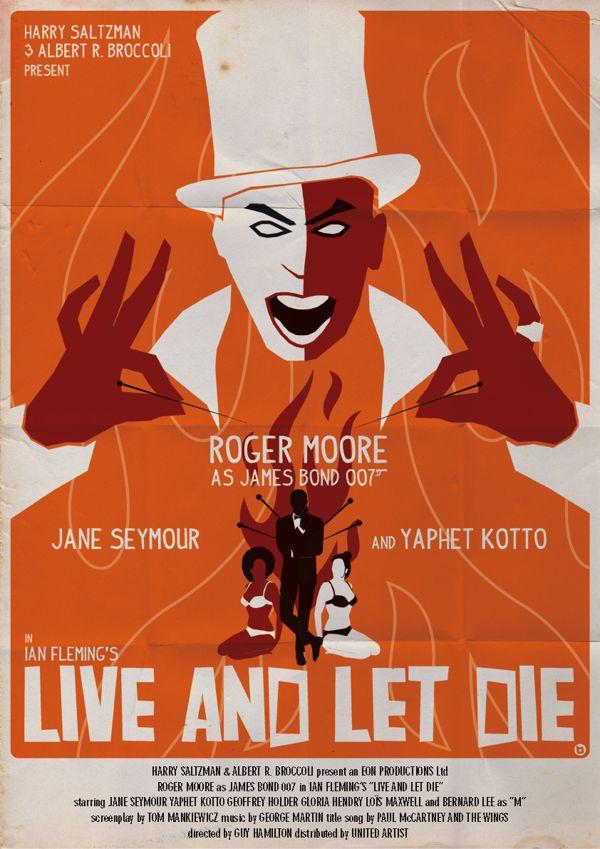 James Bond Fan Art Posters by Alain Bossuyt