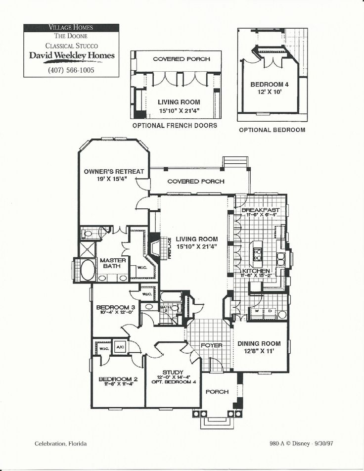 43 best images about david weekly village homes in for Ron lee homes floor plans