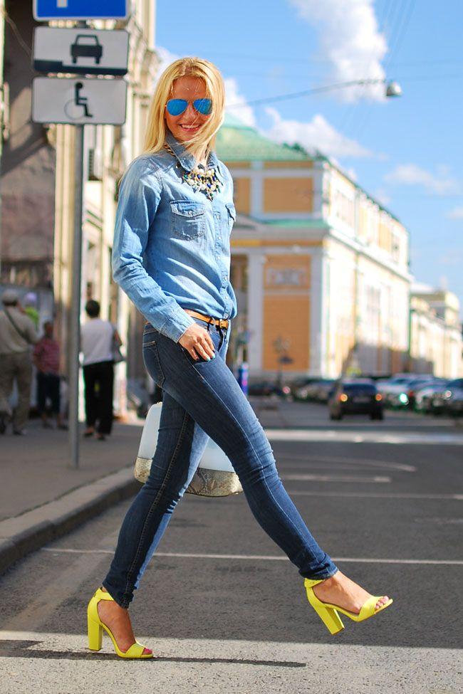 Total denim look #denim #ootd #outfit