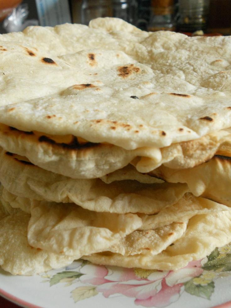 home made pita bread