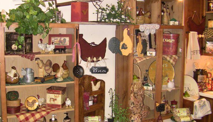 Country Primitive Decor Catalogs: Primitive Decor Ideas
