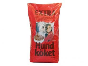 Mit Hundköket Extra meistern Sie eine der anspruchsvollsten Aufgaben, vor die Hundebesitzer gestellt werden, nämlich die Fütterung von Welpen und Junghunden. Fütterungsfehler führen bei heranwachsenden Hunden in der Regel zu Wachstumsstörungen. Darum finden Sie in Hundköket hochwertige Rohproteinquellen in Verbindung mit einem angemessenen Eiweißgehalt und einem ebenso angemessenen Kalziumgehalt und stellen eine kompetente Versorgung sicher.
