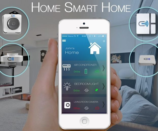 Home Control System is basically a system which allows us to control all the home appliances using your mobile.