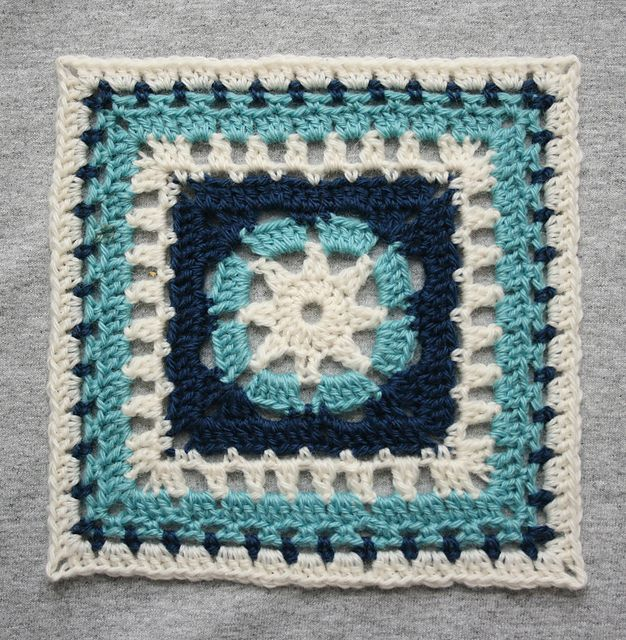 Ravelry: Heat Wave 12 inch square pattern by April Moreland