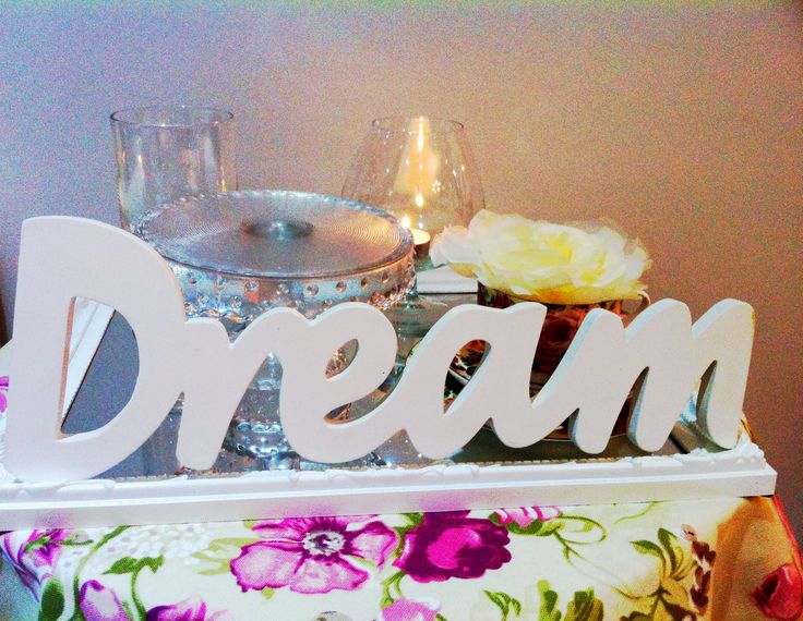 add your favourite sign/word in front, add a little fabric underneath and it's just so romantic and beautiful