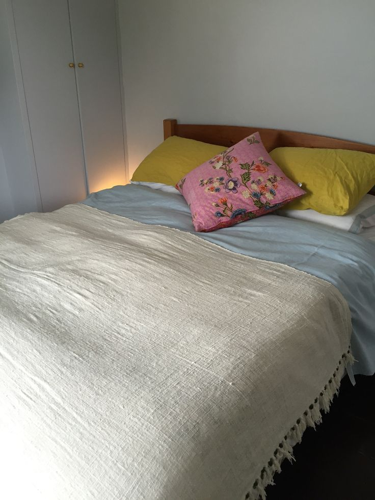 Mellow Yellow - muted colours in the bedroom help to soothe and detox from the day's business.