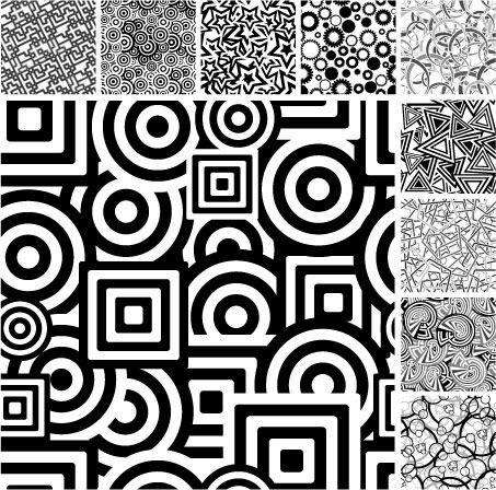 many cool patterns. Black Bedroom Furniture Sets. Home Design Ideas