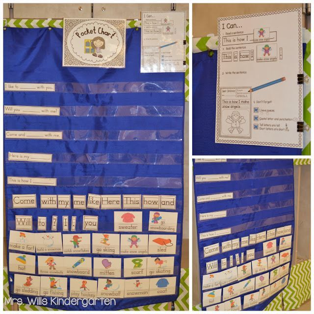 Calendar Pocket Chart Kindergarten : Best images about pocket chart on pinterest