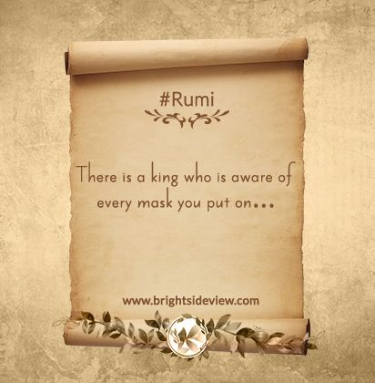 Rumi Short Quotes About Life. #rumi