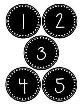 best 25 number labels ideas on pinterest kindergarten