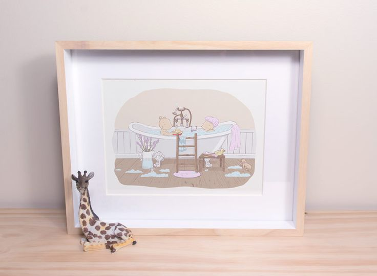A splendid way to end the day! - Twee & co art print by Chelsa Sinclair