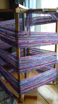 Barefootweaver: Weaving and decisions...