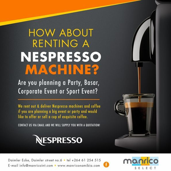 be the best hostrent a nespresso machine from manrico www
