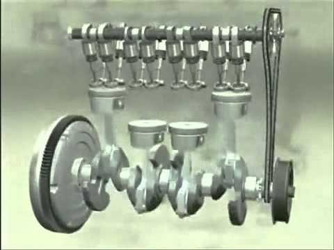 Motor de combustion interna a gasolina armandolo paso a paso