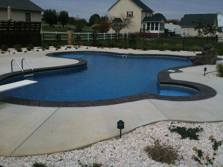 48 best pools images on Pinterest | Vinyl pool, Pool ideas and ...