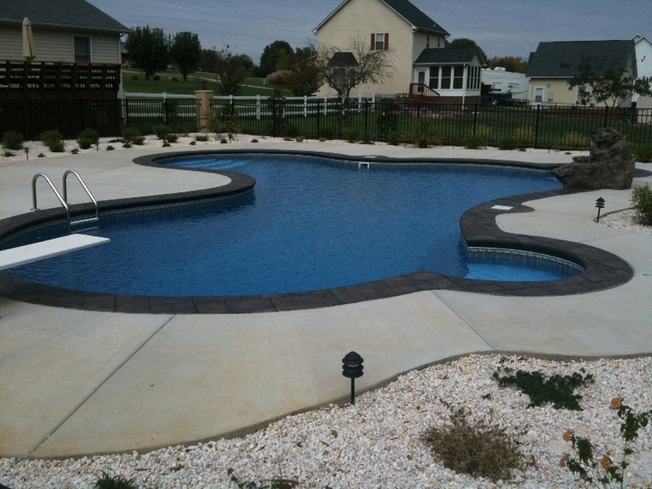 the 25 best ideas about vinyl pool on pinterest inground pool designs swimming pools backyard and kids swimming pools