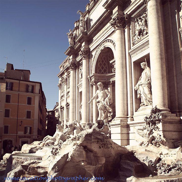#Fontana di Trevi rome vacation photographer