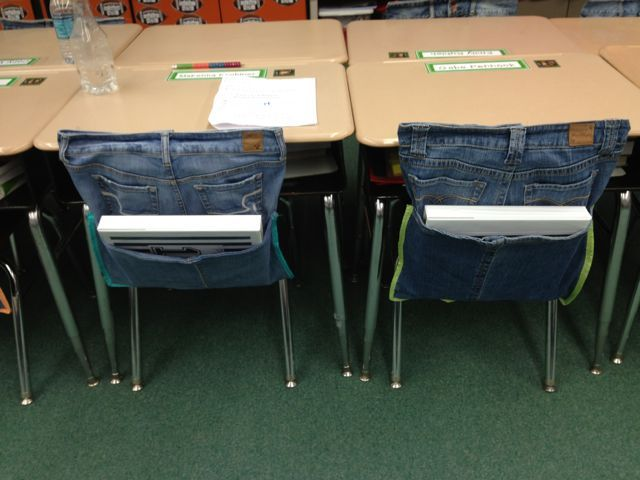 iintegratetechnology: Operation Jean Chair Pockets Complete!