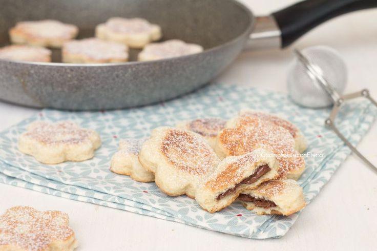 biscotti in padella alla Nutella 1