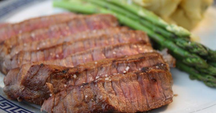 Hydromel et Ambroisie: Marinade sèche pour steak sur BBQ