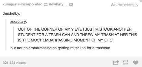 When they saw both sides. | 36 Times Tumblr Proved It Was The Funniest Place On The Internet