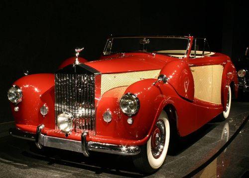 1954 Rolls Royce - Silver Wraith Cabriolet