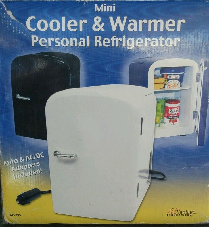 Portable Mini Fridge Cooler and Warmer Auto Car Boat Home Office AC&DC  #Advantage