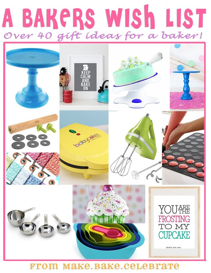 MBC: Santa baby....40 different baker gift ideas!