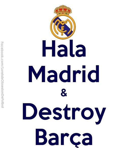 real madrid vs barcelona rivalry meme