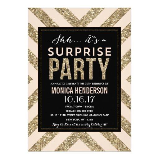 296 Best Surprise Party Images On Pinterest Invites Surprise