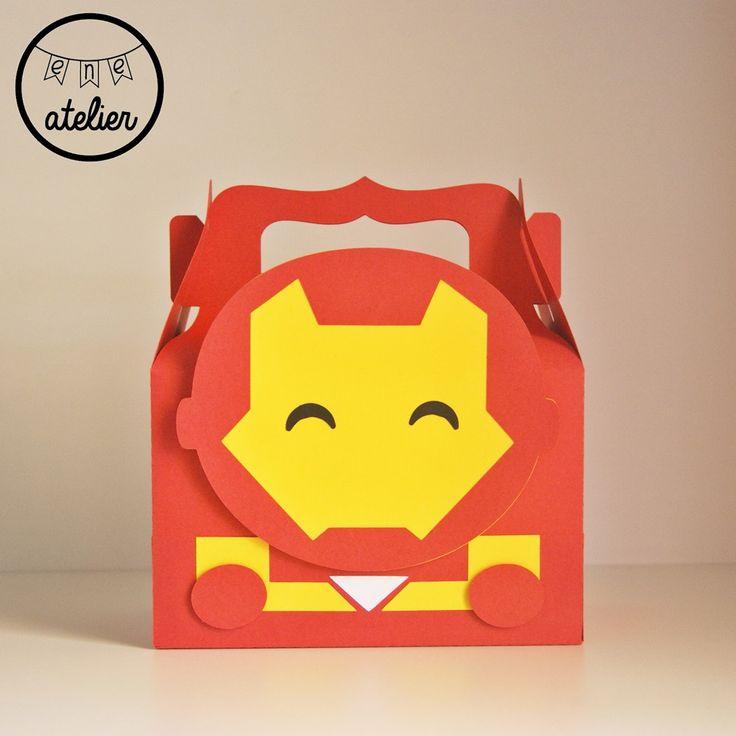 Caja Iron Man