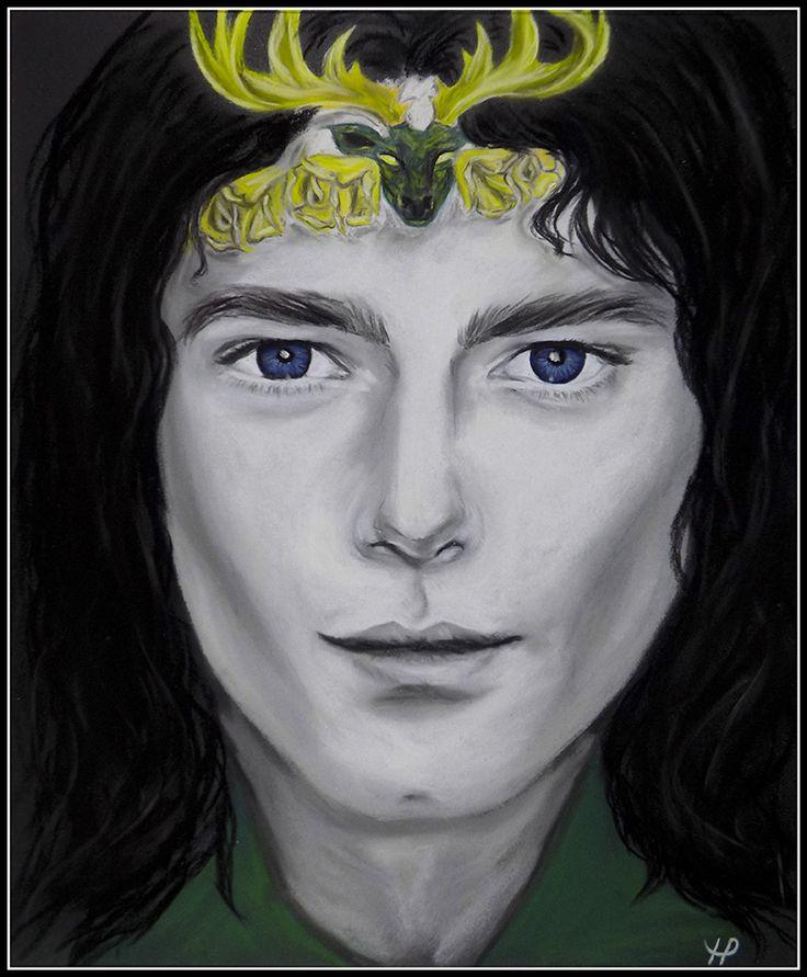 Renly Baratheon (art by Anastasia Robozeeva)