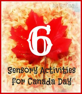 And Next Comes L: Six Sensory Activities for Canada Day