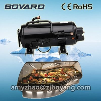 (162.00$)  Watch now - http://aids4.worlditems.win/all/product.php?id=1000001744608 - Supermarket Cabinets with boyard r404a horizontal refrigeration compressor